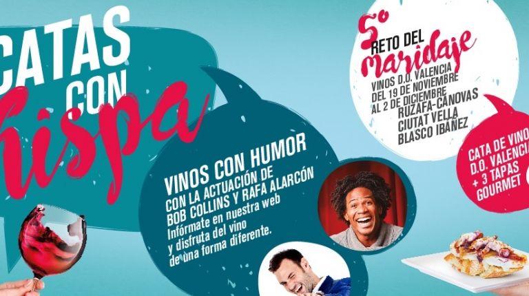 Vino, tapas y risas en El Reto del Maridaje de la DO Valencia