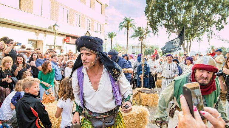 Cullera amplía a dos pases la recreación histórica de Dragut tras el éxito de visitantes