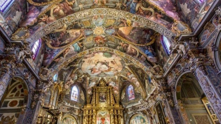 La iglesia de San Nicolás de Valencia organiza visitas musicales para explicar sus frescos