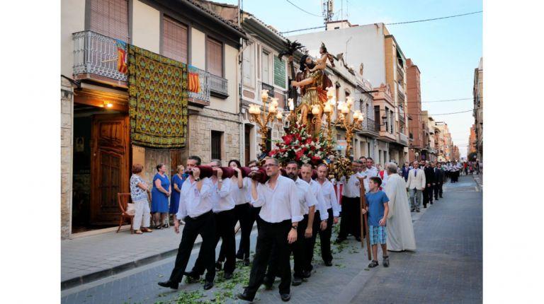 Alboraya festeja a su patrón en el día de San Cristobal
