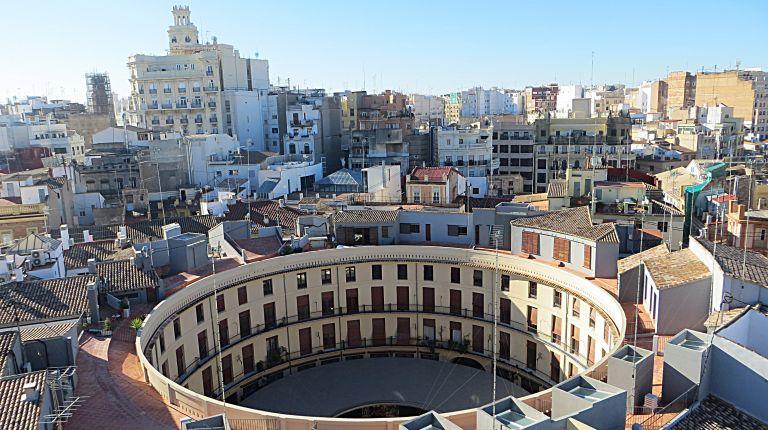 La plaza Redonda de València
