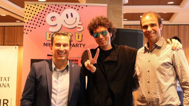 El Festival '90s LoveU Party' reúne a los artistas y DJs que más pistas de baile han llenado