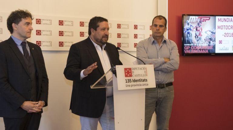 La Diputación traerá a Castellón el Mundial de Motocross que dejará un impacto turístico de 10 millones de euros en la provincia