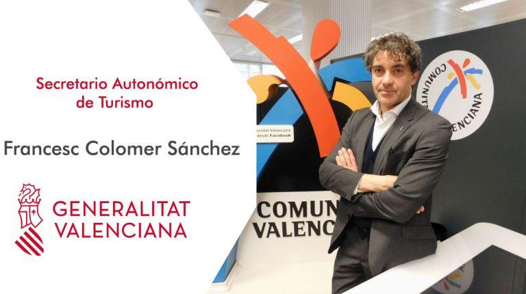 """Francesc Colomer """"En el tema de hospitalidad hemos hecho 270 acciones formativas en todo el sector y profesiones de frontera que interactúan con el turismo"""""""