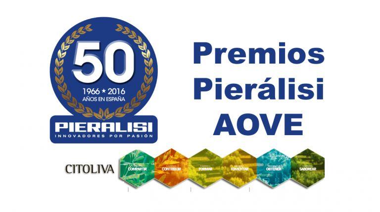 PIERALISI anuncia los finalistas de los Premios Mejores Aceites de Oliva Virgen Extra 2016-2017elaborados con su maquinaria