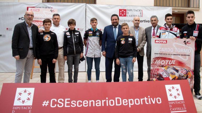 Jóvenes pilotos castellonensesreciben becas con el programa Cuna de Campeones