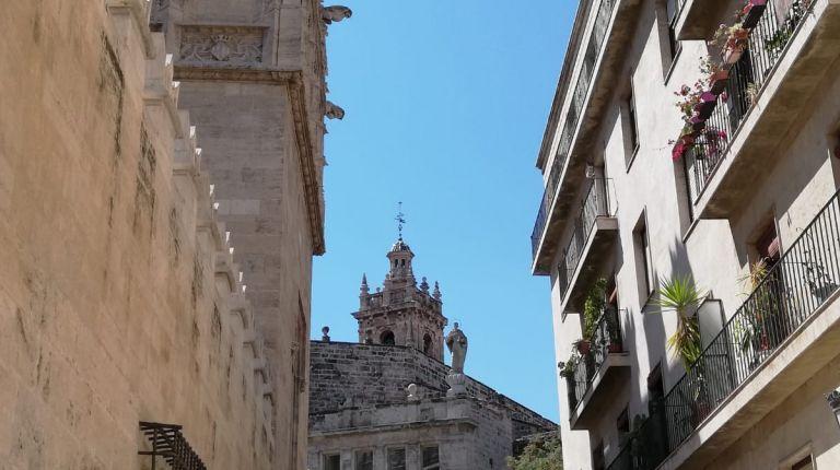 El antiguo barrio judío de València