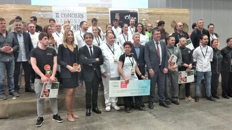 """El Restaurante Oasis de Oliva es galardonado por la """"Coca de Pico"""""""