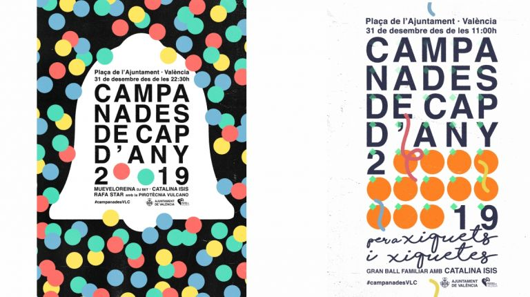 La Plaza del Ayuntamiento acogerá la fiesta campanadas de Valencia, por quinto año consecutivo