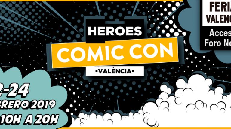 Los héroes del Comic Con sobrevuelan Valencia