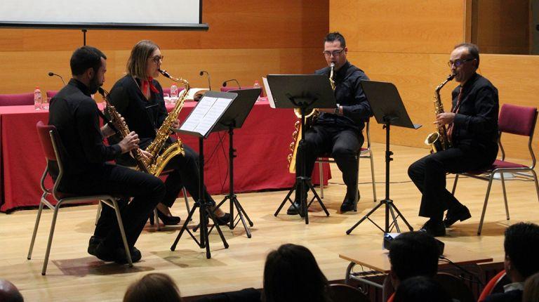 El Conservatorio de Llíria abre su curso académico con el compositor Andrés Valero-Castells como invitado