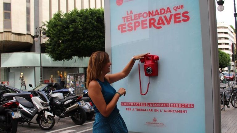 València Activa, la agencia de empleo municipal, programa Oportunitats +55