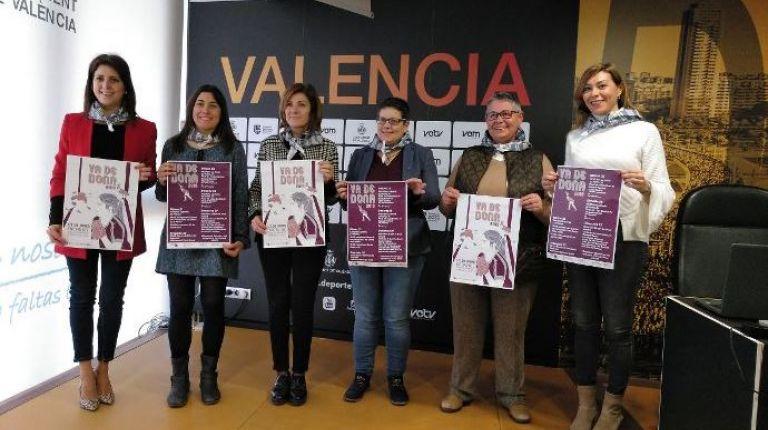 La pelota valenciana reivindica el papel de la mujer en este deporte