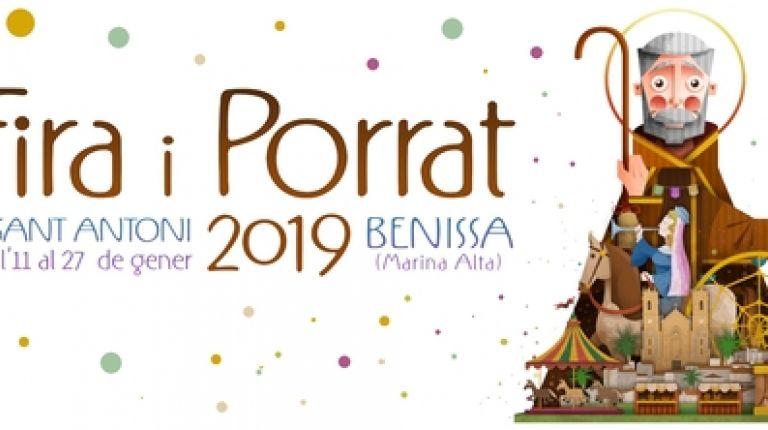 La Fira i Porrat en honor de San Antón en Benissa llega llena de actividades