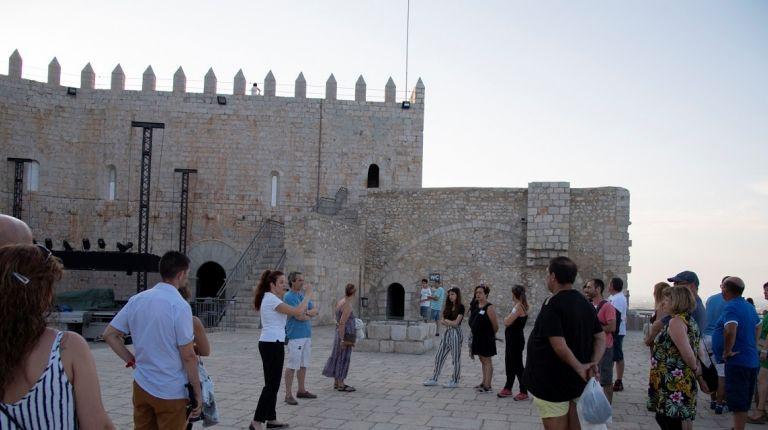El Castillo de Peñíscola mejora sus visitas ofreciendo prácticas a recién titulados
