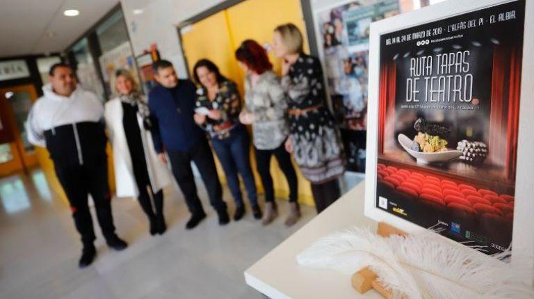 Ruta 'Tapas de Teatro' coincidiendo con la Mostra de Teatre de l'Alfàs