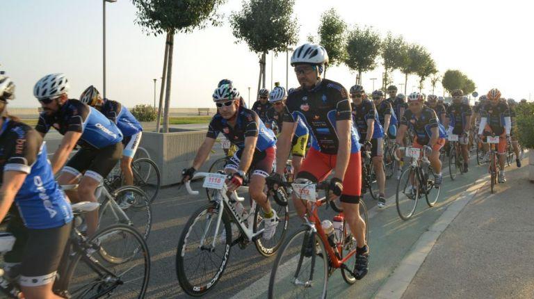 Gran fiesta del ciclismo en la Marina de Valencia