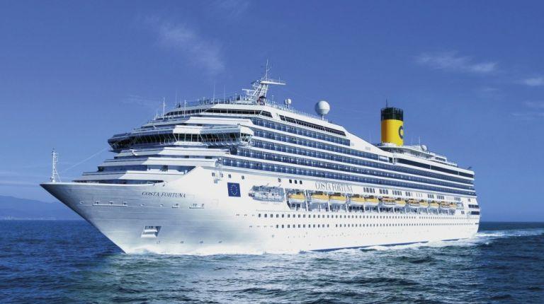 El Costa Fortuna parte de Valencia para un crucero por el Mediterráneo de 8 días