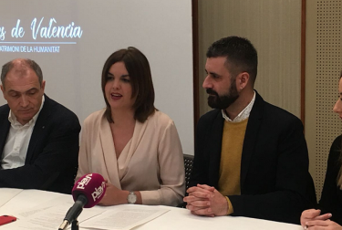 Las Fallas y la seda de València protagonistas en Fitur