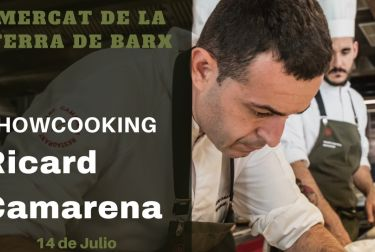 La Fira de la Terra de Barx tendrá un showcooking del chef Ricard Camarena