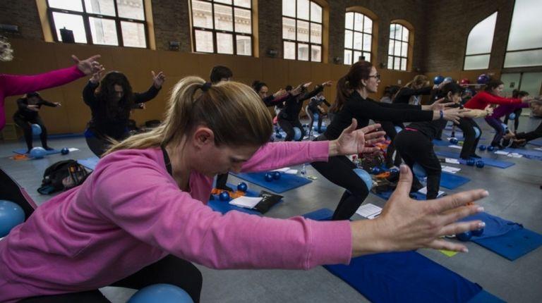 La Petxina acoge el IX Forum Internacional de Pilates y Yoga
