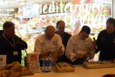 '8 platos 8 chefs' resumen la calidad de los productos y el talento de los cocineros