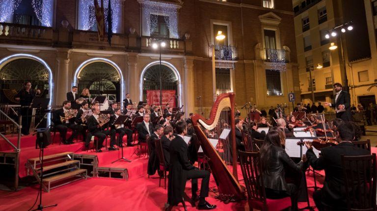 Concierto de Navidad en Castellón interpretado por la Orquesta Sinfónica