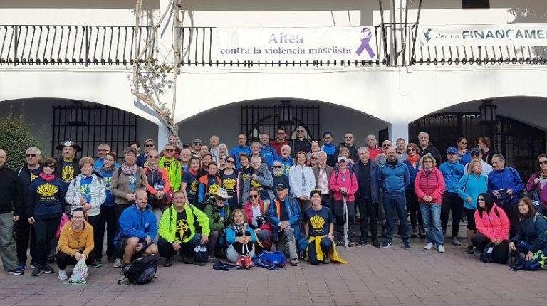 Inauguración del ramal de Altea al Camino de Santiago del Sureste y de la Lana