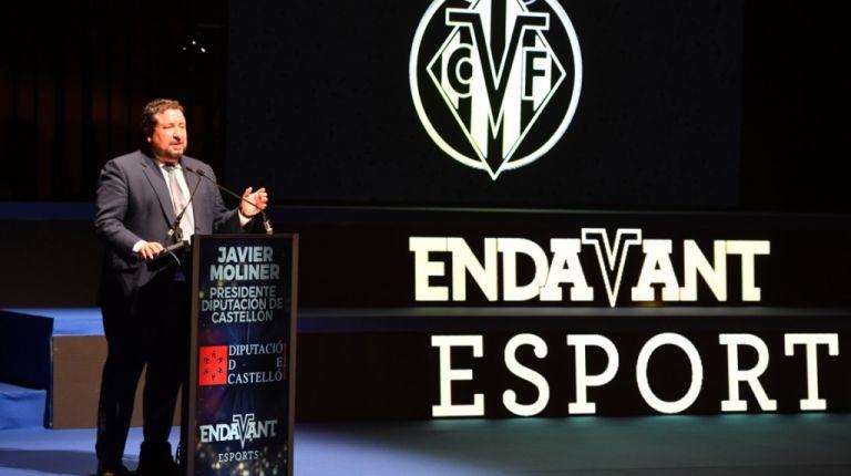 La Gala Endavant Esports del Villarreal C.F. pone en valor la promoción deportiva del club