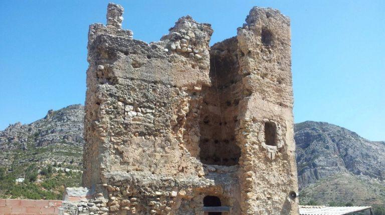 Dos Aguas mejorará el entorno histórico de la Torre Vilaragut
