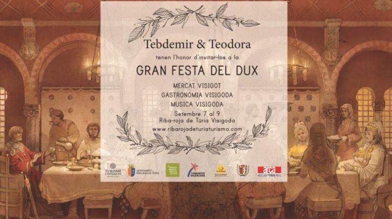 Riba-Roja de Túria celebra las VII Jornadas Gastronómicas y la Gran Festa del Dux, ambas de temática visigoda