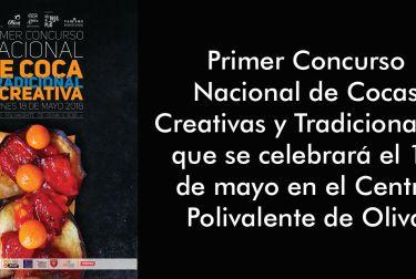 Oliva presenta el  Primer Concurso Nacional de Cocas Creativas y Tradicionales