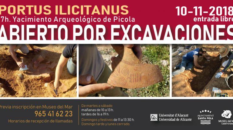 El 10 de noviembre se abrirán las puertas al yacimiento La Picola en unas visitas gratuitas