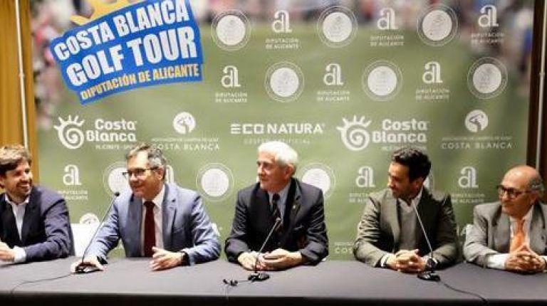 Costa Blanca Golf Tour promocionará por toda España la práctica de deporte en la provincia de Alicante