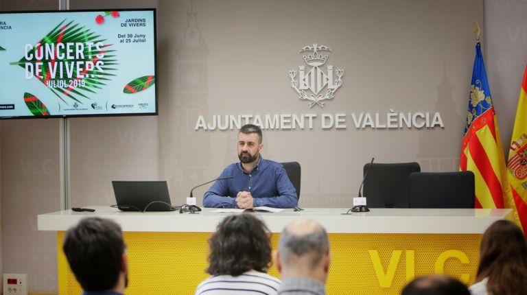 Géneros muy variados en los 18 Conciertos de Viveros de la Gran Fira de València