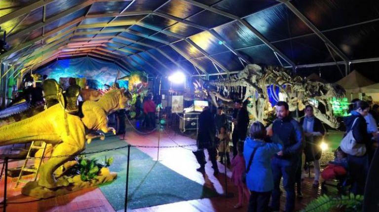 La exposición de dinosaurios Dino Expo XXLllega a Valencia