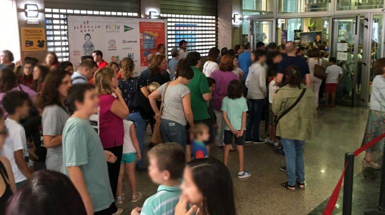 Más de 5.000 escolares participan en el Festival de València- Cinema Infantil