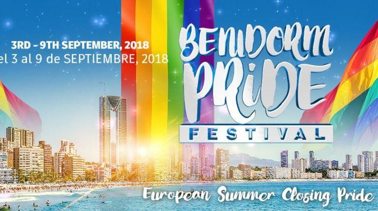A punto de comenzar la Benidorm Pride 2018