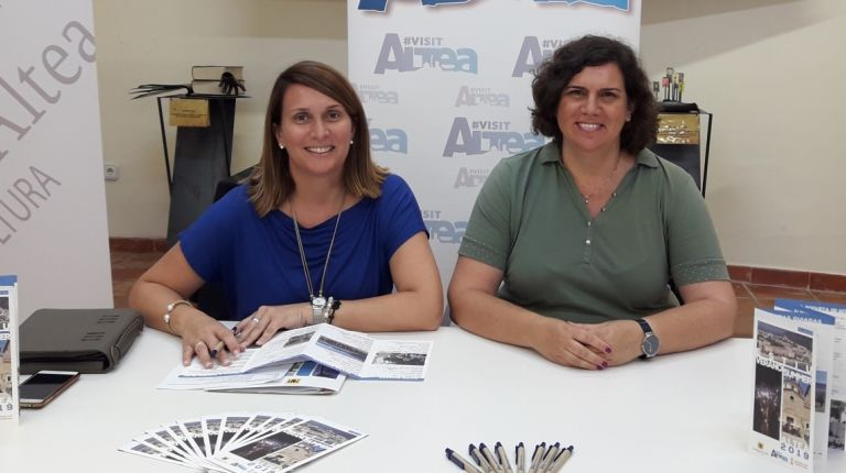 Altea Turismo recoge en un folleto las distintas actividades que van a tener lugar en Altea durante el verano