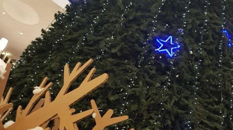 Navidad en el centro comercial El Saler