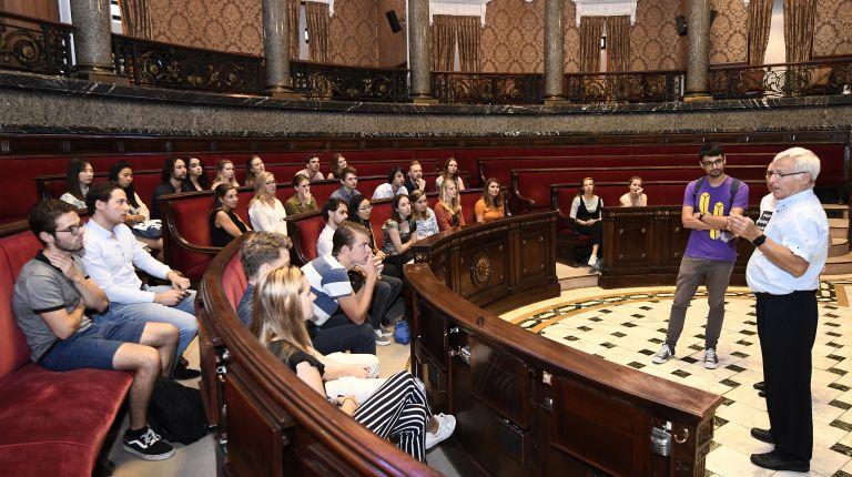 Estudiantes del Máster de Administración Pública y Ciencia Organizativa de la Universidad de Utrecht